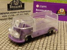 1/87 Brekina # 1026 VW T1 b GetrPr transparent Sondermodell Reinhardt