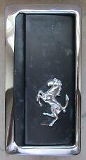 Original FERRARI Ashtray with Prancing Stallion Emblem Vintage Clean