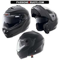 casque modulaire moto capacete Caberg Duke Noir Tapis Taille S