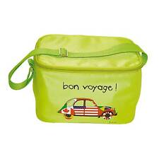 Design France collapsible cool bag with thermal insulation lining - bon voyage