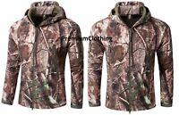 New Camouflage Waterproof Hunting Shark skin Softshell Jacket Shooting Coat Camo