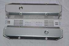 Big Block Mopar 383 400 440 Polished Fabricated Aluminum Valve Covers Long Bolt