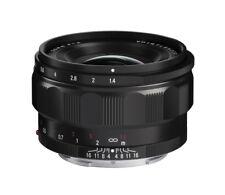Voigtländer Nokton classic 35 mm f1.4 per Sony E NERO