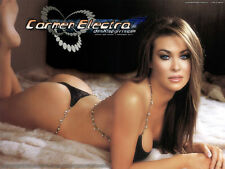 """Carmen Electra Glamour Model Sexy Hot Girl Wall Poster 32""""x24''  C016"""