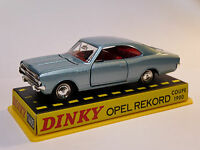 Opel REKORD coupé 1900 - ref 1405 au 1/43 de dinky toys atlas