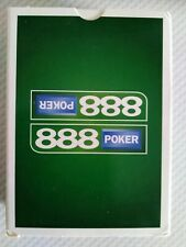 Brand New In Packet 888 Poker Deck Of Playing Cards