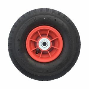 """10"""" 3.00-4 PNEUMATIC WHEEL (260X85) SACK TRUCK TROLLEY WITH 12MM ROLLER BEARINGS"""