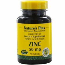 Zinc, 50 mg, 90 Tablets - Nature's Plus