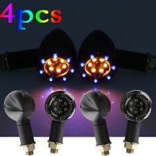 4x LED Turn Signals Front Light For Suzuki Boulevard C50 C90 C109R M109R M50 M90