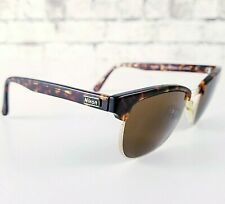 Vintage Nikon 80's Sunglasses Nk4775-2 Gold and Brown 50's Style 53-18-140