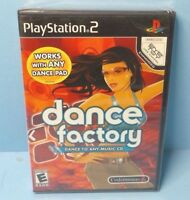 Dance Factory (Sony PlayStation 2, 2006) PS2 BRAND NEW FACTORY SEALED