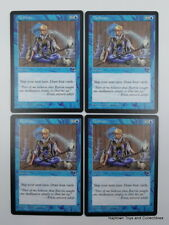 Mtg Meditate x4 Tempest Vintage Legacy Magic the Gathering NM