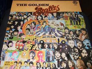 THE BEATLES : THE GOLDEN BEATLES LP 1985 SILHOUETTE USA