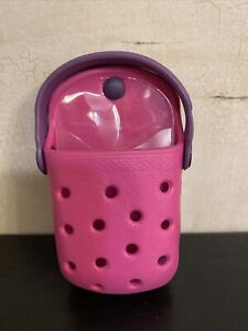 Crocs O-Dial Pink & Purple Cell Phone/Case Holder belt case small Perfect!