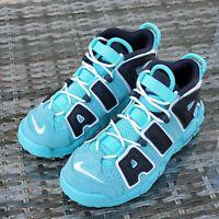 Nike Air More Uptempo GS Light Aqua 415082-403 Boys Men Size 5 Women Size 6.5