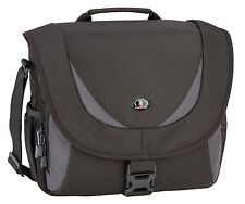Tamrac 5723 Zuma 3 lente della fotocamera DSLR Shoulder Bag-BLACK & GREY (UK STOCK)