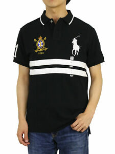Polo Ralph Lauren Big Pony Custom Slim Fit Short Sleeve Polo Shirt w/ Emblem
