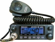 President Johnny III USA 40 Channel CB Radio 12 or 24V! NEW