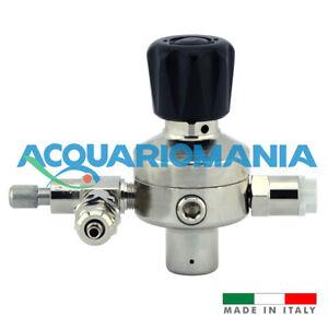 Riduttore di Pressione CO2 Made in Italy alta qualità Bombole usa e getta 10x1mm