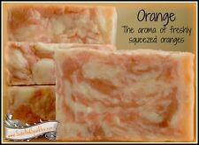 Orange Triple Butter Goat Milk Soap Bar - Full Size Bars!