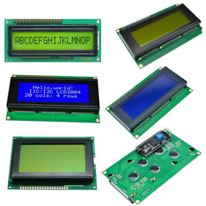 LCD Display Module 5V 3.3V 1601/1602/1604/0802/2004/12864 Character for Arduino