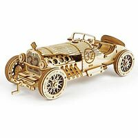 Hans Craft 3D Puzzle 1:16 Scale Model  Grand Prix Car, Stem Puzzles