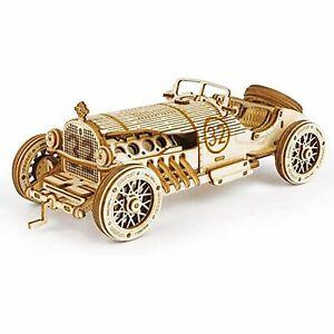 Hans Craft 3D Puzzle 1:16 Scale Model  Grand Prix Car, Stem Puzzles