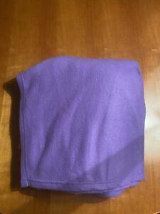 Snuggie Passion Purple Original TV Blanket Sleeves + Pockets Fleece Adult 1-Size