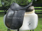 """16"""" COUNTY CONNECTION XTR child/ petite adult dressage saddle-RARE SMALL SIZE!!"""