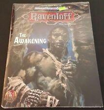 AD&D 2nd Edition Ravenloft THE AWAKENING TSR 9452 Dungeons Dragons Shrink SW NEW