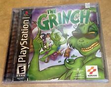 The Grinch NEW factory sealed Black Label version Playstation 1 PS1