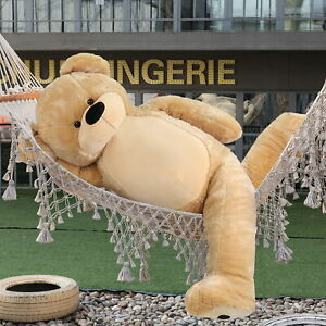 WOWMAX® 6 Foot Giant Teddy Bear Huge Stuffed Animal Large Plush Toy Light Brown