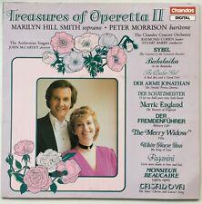 MARILYN SMITH / PETER MORRISON Treasures of the Operetta 1987 U.K. Chandos EX/EX