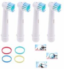 8 x Aufsteckbürsten für Oral-B Precision Clean OralB elektrische Ersatzbürsten