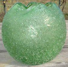 Vase Verre polylobé Bohemian Glass