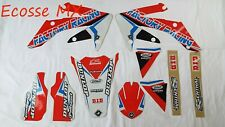 Honda CRF450R 2005-2008 NEW FLU PTS4 Graphics Stickers Decals Motocross