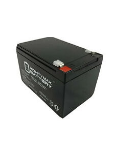 Mighty Max 12V 12AH F2 KID TRAX RECHARGEABLE REPLACEMENT BATTERY