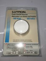 Lutron Dimmer 600 Watts Lighting 3-Way Rotary Switch NEW