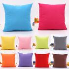 Simple Throw Pillow Case Decorative Square Soft Cushion Cover Home Sofa Decor