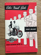 NOS Harley Davidson Duo Glide Panhead Rider Hand Book Owner's Manual 99460-64