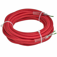 (3,73€/1m) 4m Lampen Textil Verbindungs Kabel 2-adrig Strom Leitung Verlängerung