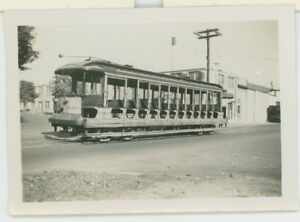 1947 Connecticut Co. #1253 Streetcar Trolley New Haven CT Traction Electric