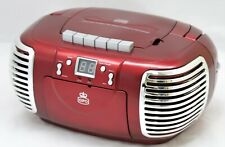 GPO 3 in 1  CD / Radio / Cassette PCD299 - Red