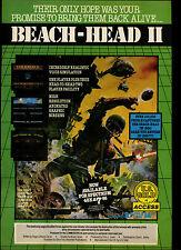 Beach-Head II, nos Oro, espectro/C64, 1985 #17841 anuncio de revista