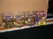 1/64 Racing Champions 1998 Gold trucks lot of 3 different & bonus