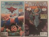 Superman Supergirl Maelstrom #1 2 Bagged And Backed NM/VF 2009