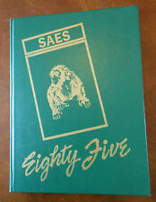 Year Book ANNUAL 1985  SAES SHAPE American Elementary School BELGIUM SY