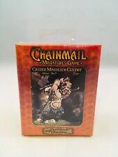 Chainmail Miniatures Games Crazed Minotaur Cultist