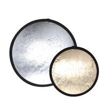 "42"" Light Reflector Silver/Gold Reversible Foldable Photo Studio Photography"