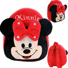 Minnie Mouse Baby Kids Mini Backpack Cartoon Animal Schoolbag Small Bags Gifts